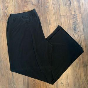 2/$18 Black / Wide Leg / Pull On / Pants